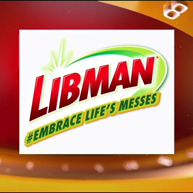 Image of the Libman logo and the phrase,