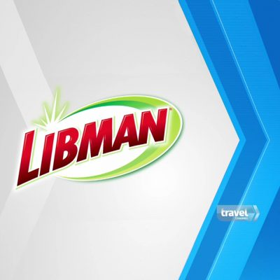 Image of the Libman and Travel Channel logos.