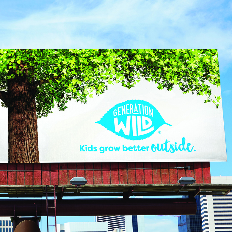 Image of a billboard for generation wild.
